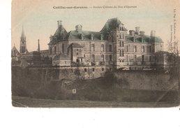 33-----CADILLAC SUR GARONNE--ancien Château Du Duc D'epernon--voir 2 Scans - Cadillac
