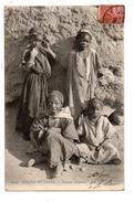 Algérie . Enfants Nègres . Scènes Et Types . Alger Le 06/03/1906 - Réf. N°1450 - - Scènes & Types