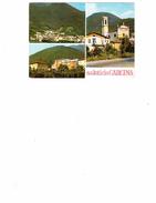 CARTOLINA SALUTI DA CARCINA (BRESCIA)  VEDUTE - Brescia