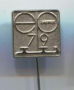 FIGURE SKATING - EUROPEAN CHAMPIONSHIP, Zagreb Yugoslavia, 1979. Vintage Pin, Badge, Abzeichen - Skating (Figure)