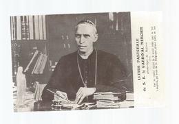 Cp , Religion , LETTRE PASTORALE DE S. E. LE CARDINAL MERCIER ,2 Scans, Guerre 1914-15 , J. Dengis - Christentum