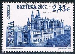 """Espagne - """"Exfilna 2007"""" Exposition Philatélique Nationale à Palma De Majorque 3919 (année 2007) Oblit. - 1931-Aujourd'hui: II. République - ....Juan Carlos I"""