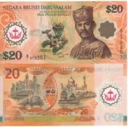 """BRUNEI   20 Ringgit  """"Commemorative Issue""""   2007    P34a   UNC - Brunei"""