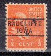 USA Precancel Vorausentwertung Preos Locals Iowa, Radcliffe 729