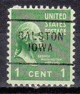 USA Precancel Vorausentwertung Preos Locals Iowa, Ralston 703