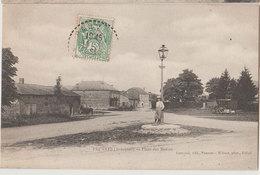 08 Pauvres 1907  Place De Mazins éditeur Costeaux édir Pauvres Wilmet Phot Rethel 300 Habitants En 1908 - France