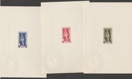 INDE / INDIA 1952  PROOF /EPREUVE  YVERT N°255/7   **MNH  Complete Set  ,ref  5103 B