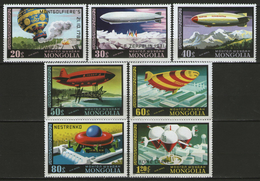 MONGOLIE:  PA.n°85/91 **, TB. Cote 5,50€. - Mongolie