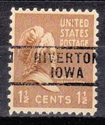 USA Precancel Vorausentwertung Preos Locals Iowa, Riverton 729