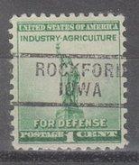 USA Precancel Vorausentwertung Preos Locals Iowa, Rockford 729