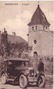 Premillieu L'église (vieille Automobile) - France
