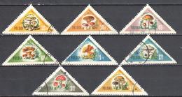 Poland 1959 - Mushrooms - Mi 1093-1100 - Used - 1944-.... Republic