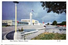 NAKURU New Station (Kenya) East African Railways - Tanzanie