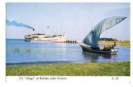 "BUKOBA S.S. ""USOGA"", Lake Victoria (Tanzania) East African Railways - Tanzanie"