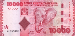 TANZANIA 10000 SHILLINGS ND (2011) P-44a UNC SIGN. MKULO & NDULU [TZ143a] - Tanzanie