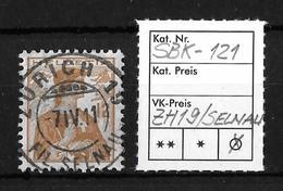 1909 HELVETIA BRUSTBILD → SBK-121, ZÜRICH 19 FIL.SELNAU 7.IV.11 - Gebraucht