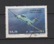 Argentina Mi 2126 Historical Commemorations - Pucara IA-58 - Aviation - 1992 - Gebruikt