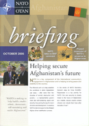 NATO OTAN Briefing Magazine / October 2006 / Afganistan - Armada/Guerra