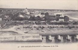 LES SABLES-D'OLONNE - Panorama De La Ville - Sables D'Olonne