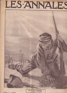 Revue LES ANNALES 6 Octobre 1918 Victoires En Macédoine, La Femme Anglaise De Guerre - Langues Scandinaves