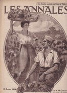 Revue LES ANNALES 13 Octobre 1918 Soldats Canadiens, IENA, - Langues Scandinaves