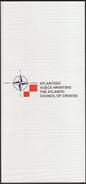 The Atlantic Council Of Croatia / Advertising Brochure / NATO OTAN / English Language Edition - Publicidad