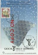 Giochi Della Gioventù, Cavalese, Val Di Fiemme, Trento, 23/8.2.1987, Sport Invernali E Ghiaccio, Cartolina Ufficiale. - Inverno