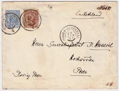 "1897, Bahnpost "" Arnhem - Oldenzaal ""  , #7953 - Periode 1891-1948 (Wilhelmina)"