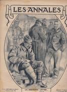 Revue LES ANNALES 1 Décembre 1918 CLEMENCEAU, TRENTE TRIESTE - Langues Scandinaves