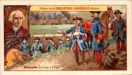 1 Chromos Chocolat - Aiguebelle Drome - Les Enfants Celebres -- Montcalm- Bill-518 - R/V - Aiguebelle