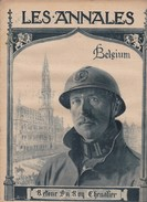 Revue LES ANNALES 8 Décembre 1918 Retour Du Roy Chevalier BELGIUM, - Langues Scandinaves
