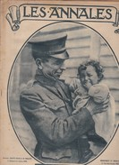 Revue LES ANNALES 15 Décembre 1918 Au Pays De WILSON, Edmond Rostand... - Livres, BD, Revues