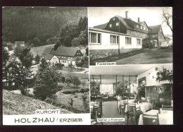 CPM Allemagne Kurort HOLZHAU Erzberg Multi Vues - Holzhau