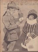 Revue LES ANNALES 13 Janvier 1918 L'arrivée à Salonique - Langues Scandinaves