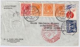 1936, Dt. Luftpost Nach Argentinien , Lufthansa , Katapult Post ? , #7957 - Periode 1891-1948 (Wilhelmina)