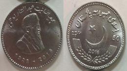 "Pakistan 2017 New Rs 50 COIN,""Philanthropist Late Abdul Sattar Edhi"" UNC - Pakistán"