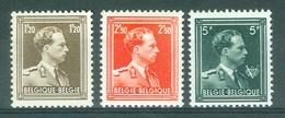 BELGIE - OBP Nr 1005/1007 - Leopold III - Grove Tanding - MNH** - Cote 270,00 € - Neufs