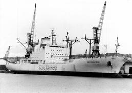 "Photo  Bateau "" Mediteran Frigo "" Cool Corriers Cloisomar Panama 1984 Split - Barcos"
