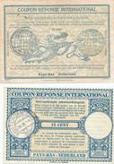 DT 390 -- NEDERLAND 5 X Coupon Réponse International ( IAC / IRC) - De 14 Cents à 90 Cents - Postal Stationery