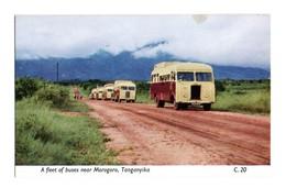 MOROGORO Afleet Of Buses (Tanganika) East African Railways - Tanzanie