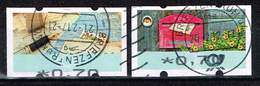Bund ATM, Michel# 8 + 9 O  Portostufe 0,70 Euro - Distributors