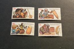 K10821- Set MNh Bophuthatswana - 1979- SC. 37-40- Beer Production