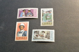 K10842 Set MNH Ciskei 1982- SC. 34-37- Nursing - Ciskei