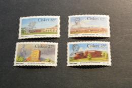 K10852-set MNH Ciskei 1986- SC. 183-186- Frontier Forts - Ciskei