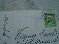 D148572 Josef  SÜSS - FRÜHLINGS ERWACHEN ,WIENER K.Nr.424.  K.u.K. Militärzensur  KASSA - 1915  Stamp Hadi Segély - Suess, Josef