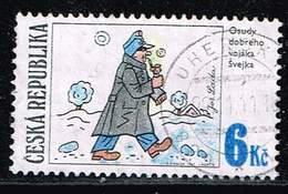 Tschechien 1997, Michel# 155 O Josef Lada's Illustration: SVEJK - Tschechische Republik