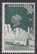 Australian Antarctic Territory  ASC 5 1959 Definitives One Shilling  Blue-Green MNH - Australian Antarctic Territory (AAT)