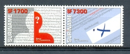 Nch1170 U.P.A.E.P. ONDERWIJS ANALFABETISME EDUCATION ANALPHABETISM SURINAME 2002 PF/MNH - Timbres