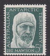 Australian Antarctic Territory  ASC 7 1961 50th Anniversary Antarctic Expedition MNH - Unused Stamps