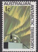 Australian Antarctic Territory  ASC 8 1966 Decimal Definitives 1c Aurora MNH - Unused Stamps